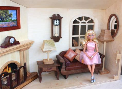barbie doll house close  carry woodworkersworkshop