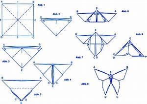 Origami Schmetterling Anleitung : origami schmetterling falten my blog ~ Frokenaadalensverden.com Haus und Dekorationen