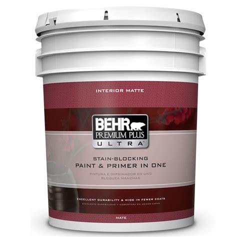 Behr Premium Plus Ultra 5 Gal Ultra Pure White Flat