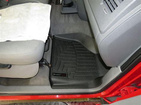 weathertech floor mats dodge ram 2008 dodge ram pickup floor mats weathertech