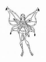 Winx Tecna Ausmalbilder Coloring Malvorlagen Ausdrucken Kostenlos Zum Layla sketch template