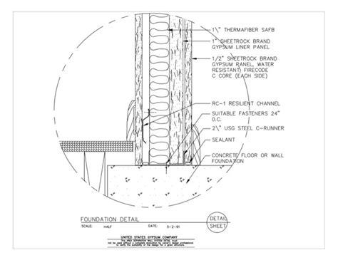 usg design studio 09 21 16 33 152 area separation wall
