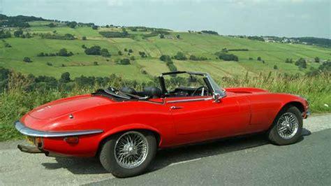 Jaguar E-type Hire Yorkshire, Lancashire, North West