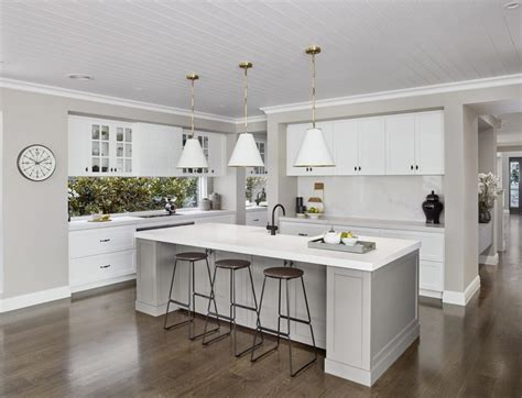 guide  contemporary hamptons kitchens kitchens  kathie