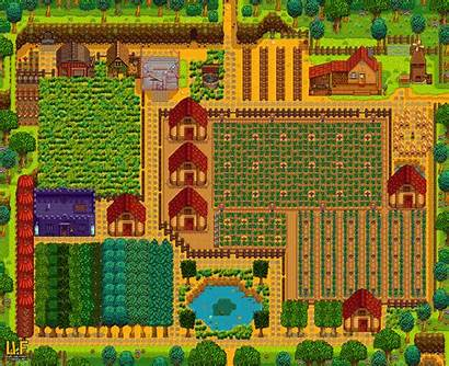 Layout Farm Planned Suggestions Tips Stardewvalley