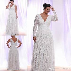 Discount cheap full lace plus size wedding dresses with for Cheap plus size lace wedding dresses