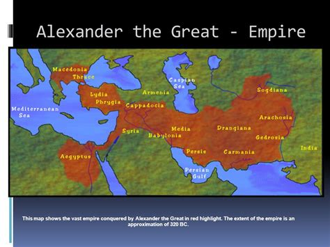 The Great Empire the conquest of the great ppt