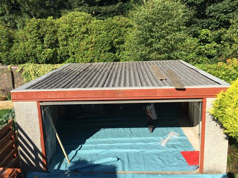 double skinned roof lenzie  garage roofing company