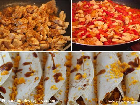 cuisine mexicaine fajitas recettes fajitas mexicaines au poulet
