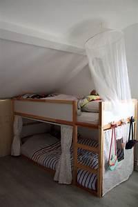 Lit Cabane Au Sol : le lit cabane de princesses diy la reine de l 39 iode ~ Premium-room.com Idées de Décoration