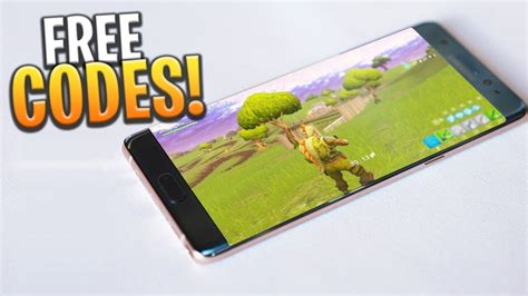 fortnite mobile codes iosandroid