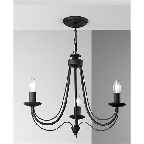 black chandeliers uk franklite fl2173 3 philly 3 light black chandelier