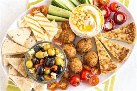easy vegetarian mezze platter amuse