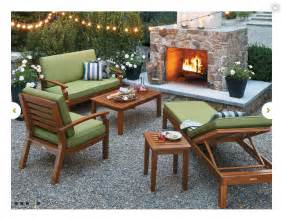 smith and hawken teak patio furniture home outdoor