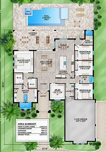 22, House, Plans, With, Pool, Ideas, In, 2021