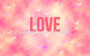 What All You Need Is Love