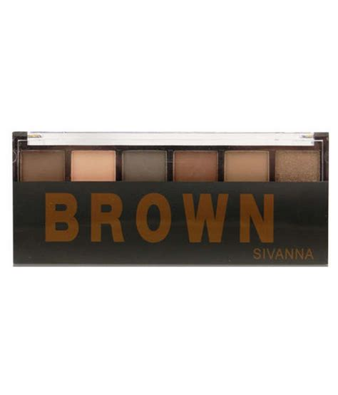 sivanna colors  shades eyeshadow palette brown buy