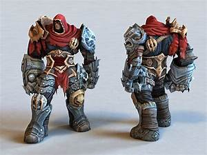 Darksiders War Concept 3d Model 3ds Max Files Free