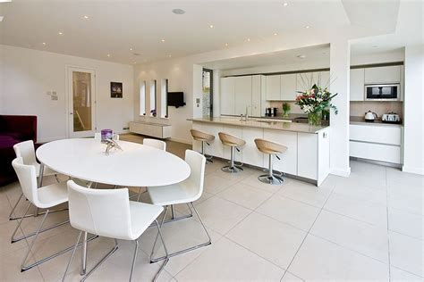 open plan kitchen design gallery how to zone an open plan kitchen living space property 7198