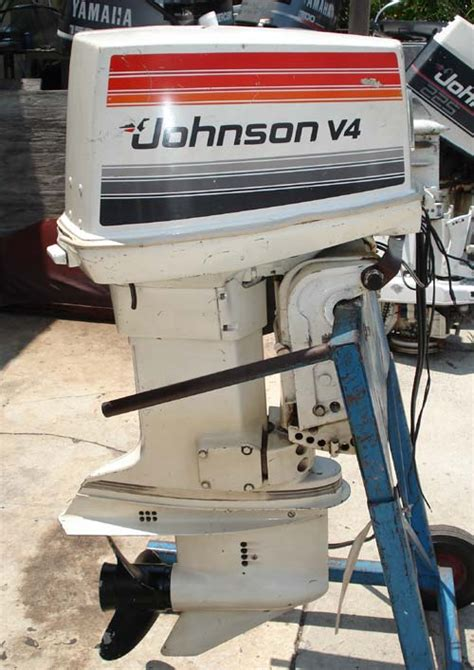 hp johnson outboard boat motor  sale
