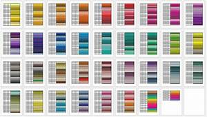 Email Template Word General Color Chart 5 Printable Charts Word Pdf