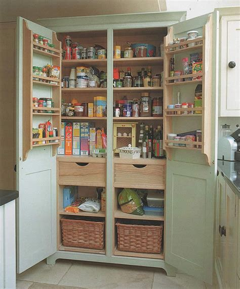 freestanding pantry  small spaces  projectsatobn