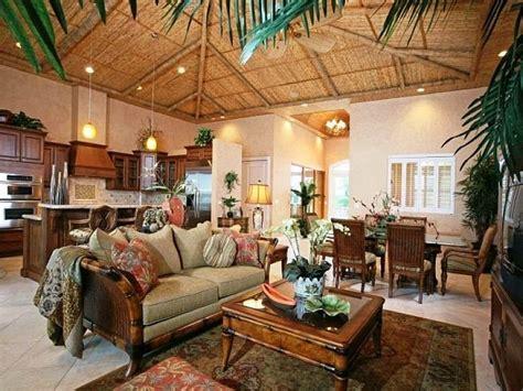 Hawaiian Home Design Ideas by Tropical Home Decor Ideas With Vintage Design Living