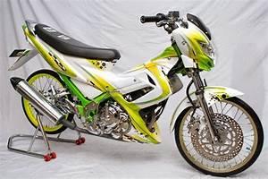 Gambar Motor Satira Fu Modifikasi Terbaru Lengkap
