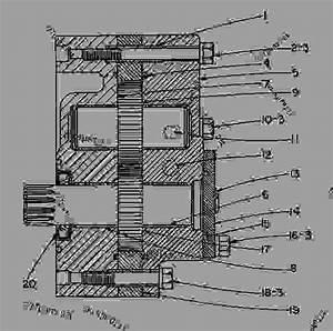 3p6814 Pump Group-gear