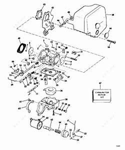 Evinrude 1977 35 - 35753h  Carburetor