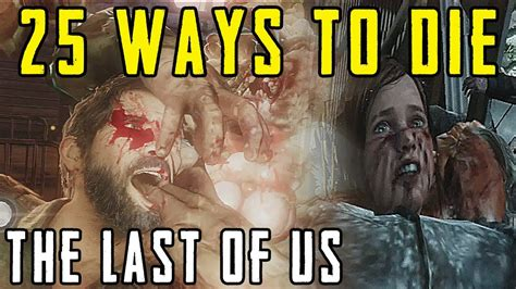 The Last Of Us  Top 25 Ways To Die Youtube