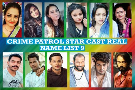 crime patrol cast real name list 9 and more