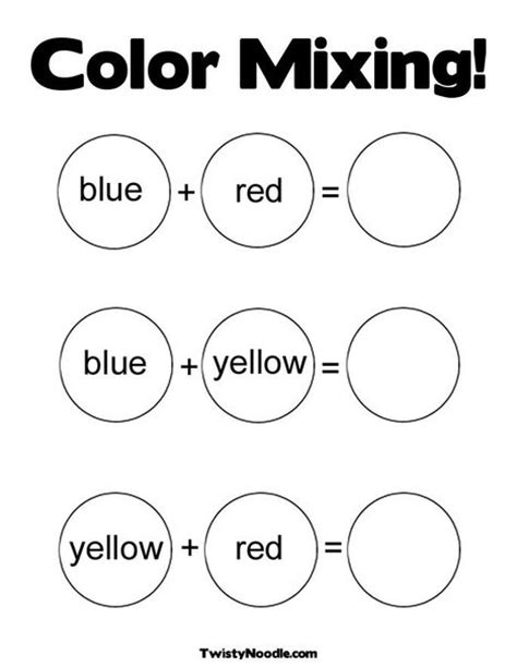 color mixing coloring page from twistynoodle 474 | eda5af4b2ed31b6f63205ea7456e0906