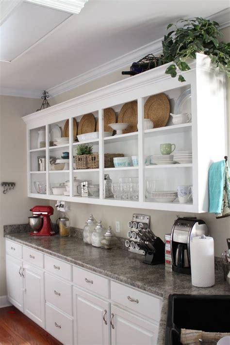 kitchens  open shelves sortrachen