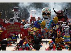 Mexico's Day of the Dead Parade Pays Tribute to Quake