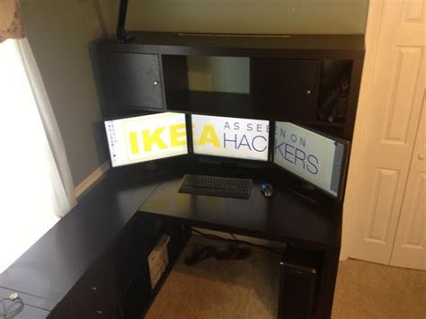 ikea hackers expedit desk with hutch great rooms