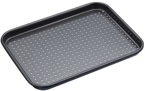 baking masterclass tray sheet nicht stick non 18cm 24cm perforated bake klebend backen perforierte klein