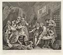 'A Rake's Progress (plate 7)', William Hogarth | Tate