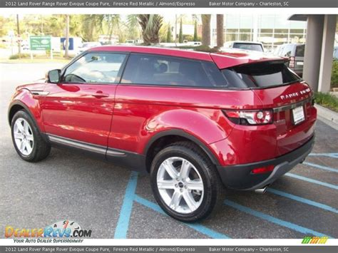 red land rover old 2012 land rover range rover evoque coupe pure firenze red