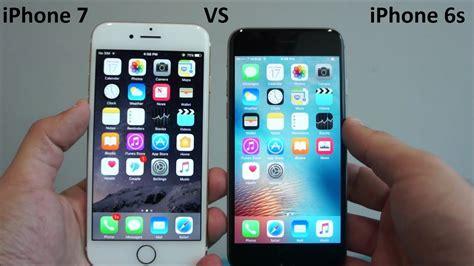 iphone compare apple iphone 7 vs iphone 6s comparison