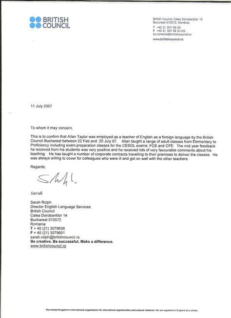 recommendation letter sample  teacher  parent