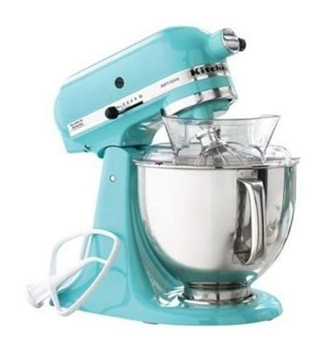 mint green kitchen aid decorating with color turquoise our haus 7522