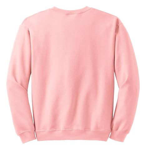 light pink sweatshirt gildan 18000 heavy blend crewneck sweatshirt light pink
