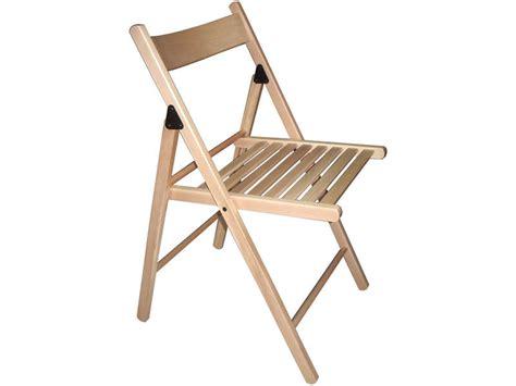 chaise pliante ulla coloris naturel vente de chaise