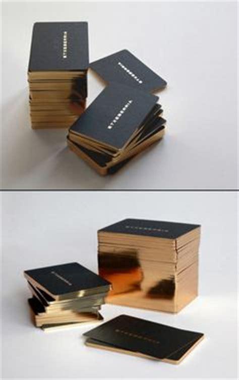 print process foil images business card
