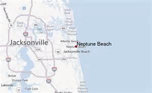 Neptune Beach Florida Map
