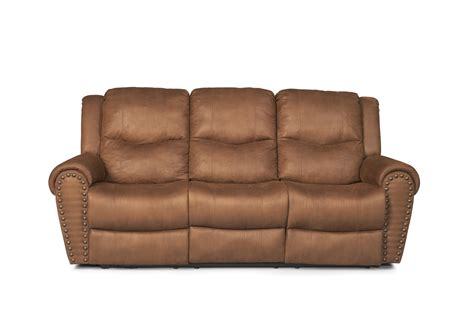 power reclining sofa set the montclair rustic brown power reclining sofa set