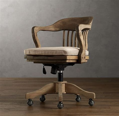 wood bankers chair uk best 25 vintage office chair ideas on office