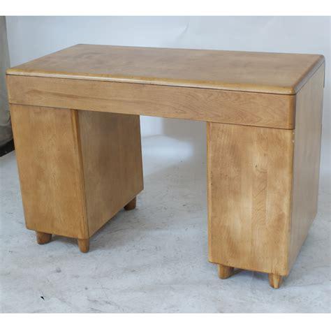 heywood wakefield desk vintage heywood wakefield student desk m314 glass top ebay