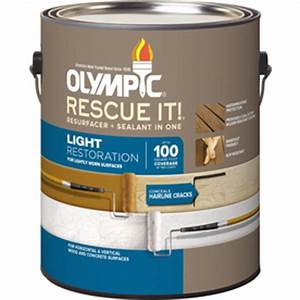 Lowes Outdoor Stain Color Chart Shop Olympic Rescue It Tintable Base 2 Restoration